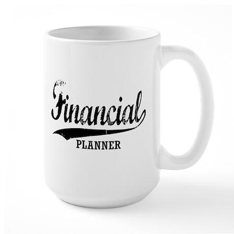 Financial Planner Large Mug