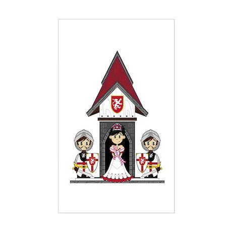 Princess & Crusader Knights Sticker