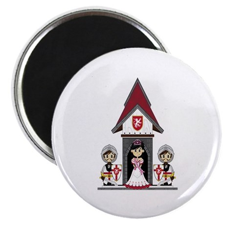 Princess & Crusader Knights Magnet