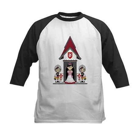 Princess & Crusader Knights Kids Baseball Jers