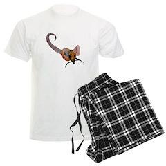 Stenciled Rat Pajamas