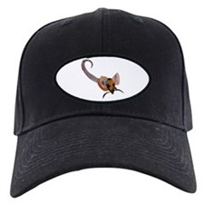 Stenciled Rat Baseball Hat