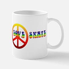 Peace Love Skate Mug
