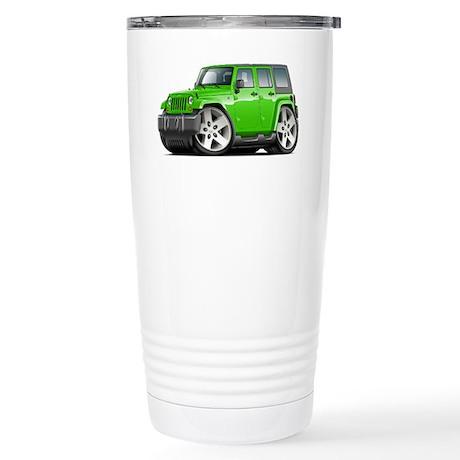 Wrangler Lime Car Stainless Steel Travel Mug