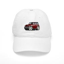 Wrangler Maroon Car Baseball Cap