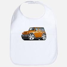 Wrangler Orange Car Bib