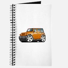 Wrangler Orange Car Journal