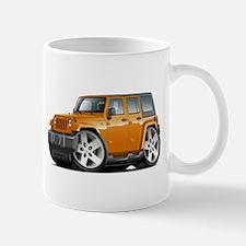 Wrangler Orange Car Mug