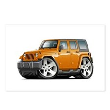 Wrangler Orange Car Postcards (Package of 8)
