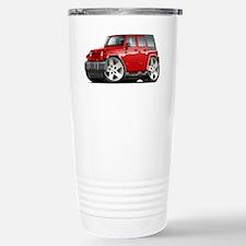 Wrangler Red Car Stainless Steel Travel Mug