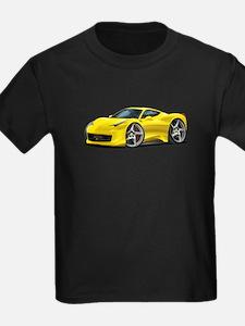 458 Italia Yellow Car T