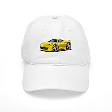 458 Italia Yellow Car Baseball Cap