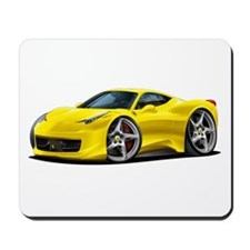458 Italia Yellow Car Mousepad