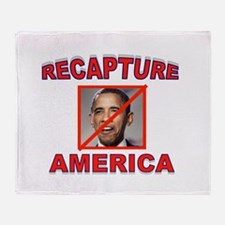 TAKE AMERICA BACK Throw Blanket