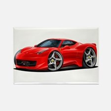 458 Italia Red Car Rectangle Magnet