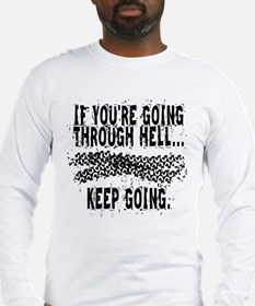 Going Through Hell - Cyclist Long Sleeve T-Shirt