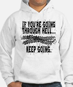 Going Through Hell - Cyclist Hoodie