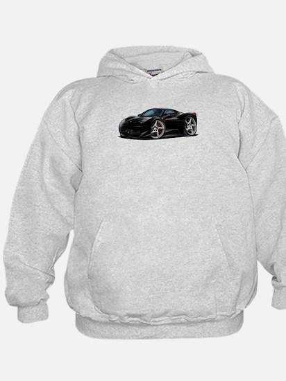 458 Italia Black Car Hoody