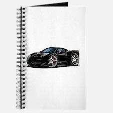458 Italia Black Car Journal