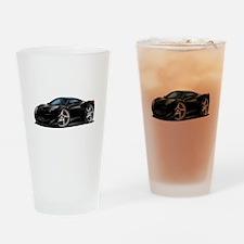 458 Italia Black Car Drinking Glass