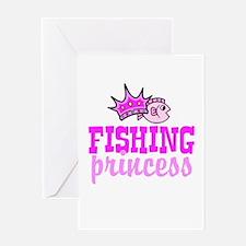 Fishing Princess Greeting Card