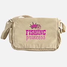 Fishing Princess Messenger Bag