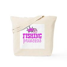 Fishing Princess Tote Bag