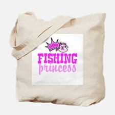 Fishing Princess Tote Bag