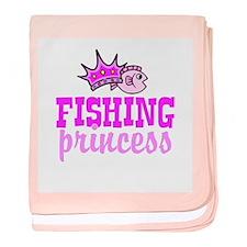 Fishing Princess Baby Blanket