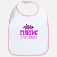 Fishing Princess Bib