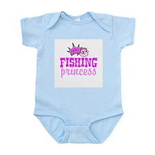 Fishing Princess Infant Bodysuit