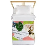 Nature Quote Collage Twin Duvet