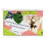 Nature Quote Collage Pillow Case