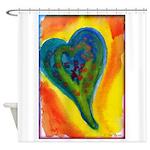 Bright Valentine Shower Curtain