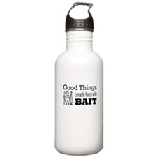 Good Things to Those who Bait Sports Water Bottle