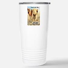 I Like to Get Up Close and Pe Travel Mug