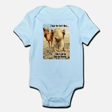 I Like to Get Up Close and Pe Infant Bodysuit
