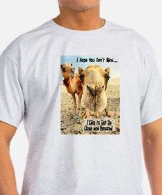 I Like to Get Up Close and Pe T-Shirt