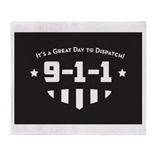 Cool 911 Throw Blanket