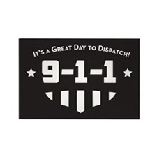 Funny 911 Rectangle Magnet