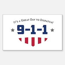 Unique 911 dispatcher Decal
