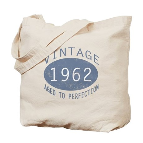 1962 Aged To Perfection Tote Bag