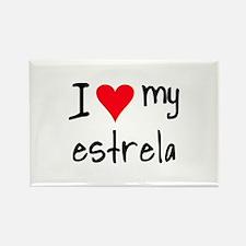 I LOVE MY Estrela Rectangle Magnet (10 pack)