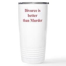 Unique Divorce Travel Mug