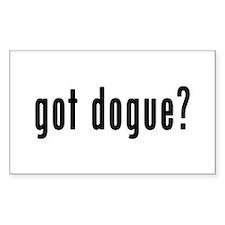 GOT DOGUE Decal