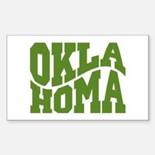 Oklahoma Sticker (Rectangle)
