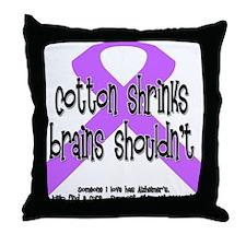 Alzheimer's - someone Throw Pillow
