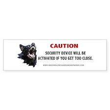 Schutzhund Bumper Bumper Sticker