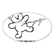 Don't Poke The Bear Decal