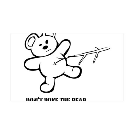 Don't Poke The Bear 38.5 x 24.5 Wall Peel